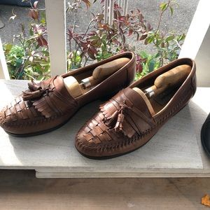 DAVID TAYLOR LEATHER LOAFERS